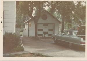 The garage Jay's dream stemmed from.